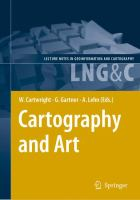 Cover image for Cartography and art