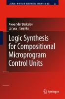 Cover image for Logic synthesis for compositional microprogram control units