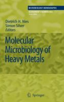 Cover image for Molecular microbiology of heavy metals