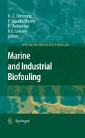 Cover image for Marine and industrial biofouling