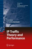 Cover image for IP-traffic theory and performance