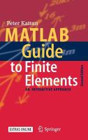 Cover image for MATLAB guide to finite elements an interactive approach