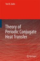 Cover image for Theory of periodic conjugate heat transfer