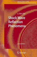 Cover image for Shock Wave Reflection Phenomena