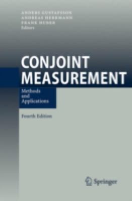 Cover image for Conjoint measurement : methods and applications