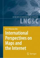 Cover image for International perspectives on maps and the internet