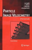 Cover image for Particle image velocimetry : a practical guide