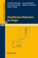 Cover image for Hamiltonian Reduction by Stages