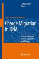 Cover image for Charge migration in DNA perspectives from physics, chemistry, and biology