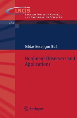 Cover image for Nonlinear observers and applications