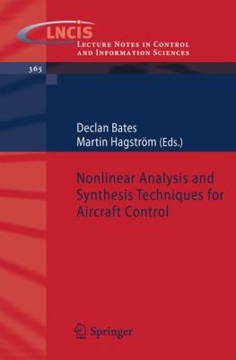 Cover image for Nonlinear analysis and synthesis techniques for aircraft control