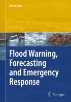 Cover image for Flood warning, forecasting and emergency response