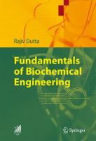 Cover image for Fundamentals of biochemical engineering