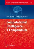 Cover image for Computational intelligence : a compendium