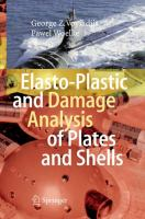 Cover image for Elasto-plastic and damage analysis of plates and shells