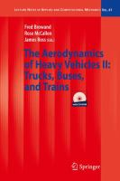 Cover image for The aerodynamics of heavy vehicles II : trucks, buses, and trains