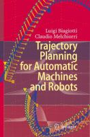 Cover image for Trajectory planning for automatic machines and robots