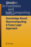 Cover image for Knowledge-based neurocomputing : a fuzzy large approach