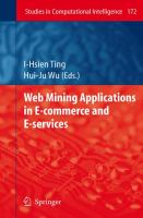 Cover image for Web mining applications in e-commerce and e-services
