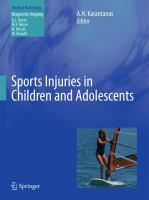 Cover image for Sports injuries in children and adolescents