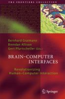 Cover image for Brain-computer interfaces : revolutionizing human-computer interaction