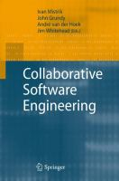Cover image for Collaborative software engineering