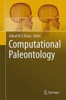 Cover image for Computational paleontology