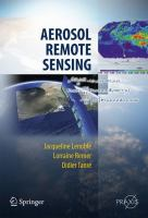 Cover image for Aerosol remote sensing