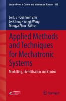 Cover image for Applied methods and techniques for mechatronic systems : modelling, identification and control