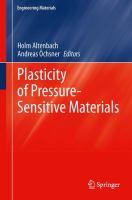 Cover image for Plasticity of pressure-sensitive materials