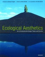 Cover image for Ecological aesthetics : art in environmental design : theory and practice