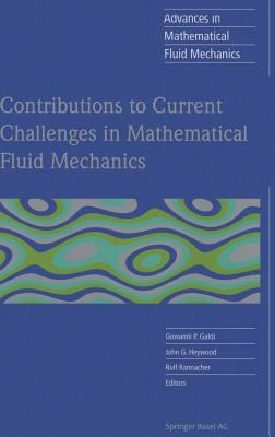 Cover image for Contributions to current challenges in mathematical fluid mechanics
