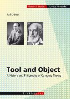 Cover image for Tool and Object A History and Philosophy of Category Theory