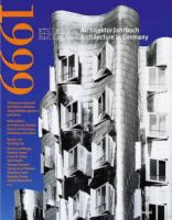 Cover image for Dam architektur jahrbuch = Dam architecture in Germany 1999