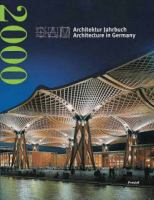 Cover image for Dam architektur jahrbuch = dam architecture in Germany 2000
