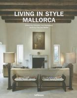 Cover image for Living in style Mallorca