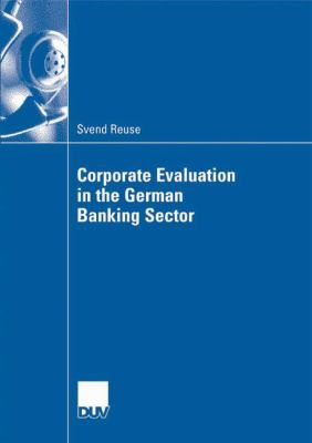 Cover image for Corporate Evaluation in the German Banking Sector