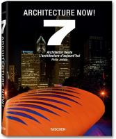 Cover image for Architecture now!. 7 = Architektur heute = L'architecture d'aujourd'hui