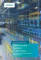 Cover image for Communication Networks In Automation: Bus Systems, Industrial Security and Network Design
