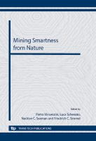 """Cover image for Mining smartness from nature : selected, peer reviewed papers from the symposium H """"Mining smartness from nature"""" of CIMTEC 2012-4th international conference """"Smart materials, structures and systems"""", held in Montecatini Terme, Italy, June 10-14, 2012"""