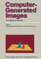 Cover image for Computer-generated images : the state of the art