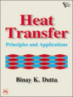 Cover image for Heat transfer : principles and applications