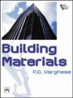 Cover image for Building materials