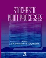 Cover image for Stochastic point processes