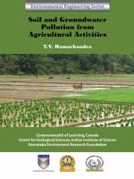 Cover image for Soil and groundwater pollution from agricultural activities