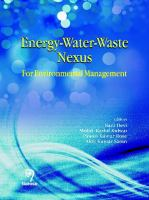 Cover image for Energy-water-waste nexus : for environmental management