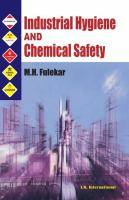 Cover image for Industrial hygiene and chemical safety