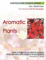 Cover image for Aromatic plants