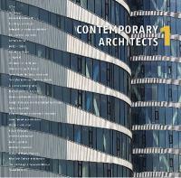 Cover image for Contemporary architects 1 = Les nouveaux maîtres de l 'architecture = Zeutgenossishe architekten 1 = Hedendaagse architecten 1 = Arquitectos contemporános 1 = I nouvi maestri dell 'architettura = Arquitectos contemporanneos 1 = Nutida arkiteker 1