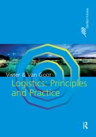 Cover image for Logistics : principles and practice